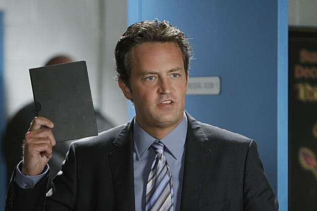 "Matthew Perry plays Ben Donovan in a scene from ""Mr. Sunshine."" Photo: Michael Desmond, AP"