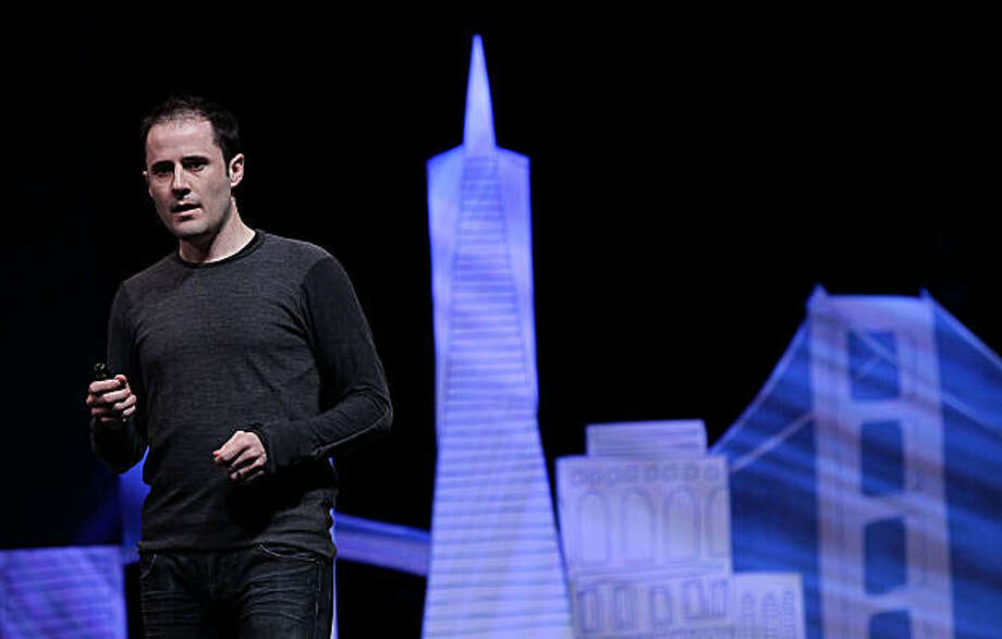 SAN FRANCISCO - APRIL 14:  Twitter CEO Evan Williams speaks during the first annual Chirp, Twitter Developer's Conference April 14, 2010 in San Francisco, California. The conference is a two day event for developers who work with the popular social networking service. Photo: Justin Sullivan, Getty Images