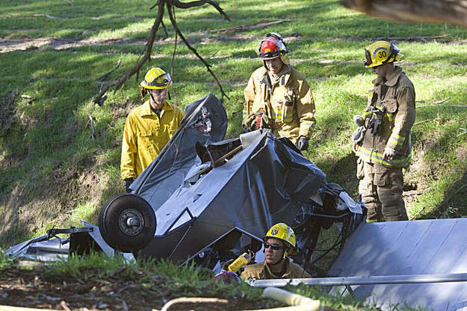 2 hurt in San Louis Obispo when WWII plane crashes - SFGate