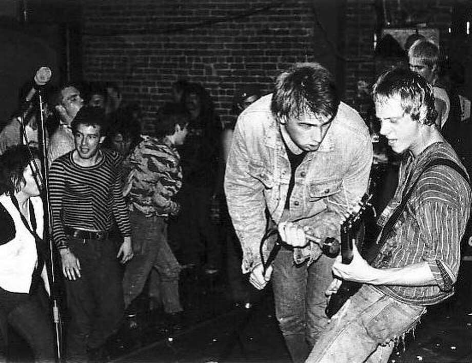 "The punk band DOA performs in San Francisco, circa 1980, in a scene from Susanne Tabata's 2010 documentary ""Bloodied But Unbowed,"" which makes its US. premiere at the San Francisco Independent Film Festival (IndieFest). The festival runs Feb. 3-17. Photo: S.F. IndieFest"
