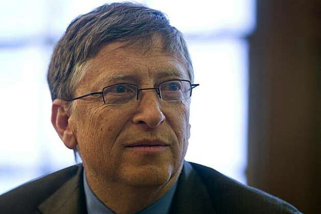 Bill Gates, co-chairman of the Bill & Melinda Gates Foundation, listens during an interview at Roosevelt House in New York, U.S., on Monday, Jan. 31, 2011. Gates, chairman and co-founder of Microsoft Corp., called for urgent donations to stop the spread of polio and make it the first infectious disease eradicated since smallpox was wiped from the planet in 1979. Photographer: Jin Lee/Bloomberg *** Local Caption *** Bill Gates Photo: Jin Lee, Bloomberg