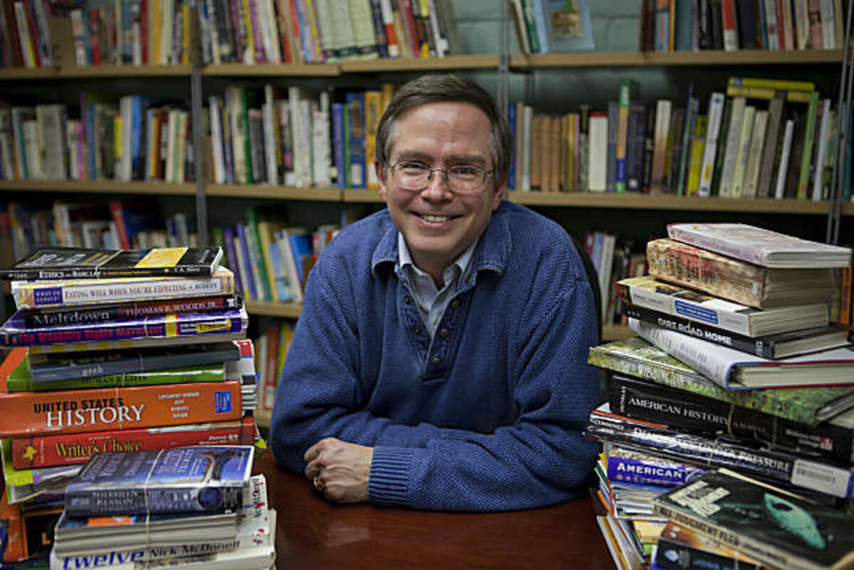 Benetech Chief Executive Officer Jim Fruchterman has created the world's largest digital library, Bookshare, which makes books accessible to the blind and dyslexic through its literacy program on Wednesday, December 15, 2010 in Palo Alto, Calif.