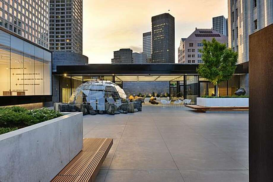 The sculpture garden atop the San Francisco Museum of Modern Art is one of three Bay Area projects to receive a 2011 Institute Honor Award from the American Institute of Architects. Photo: Bernard Andre