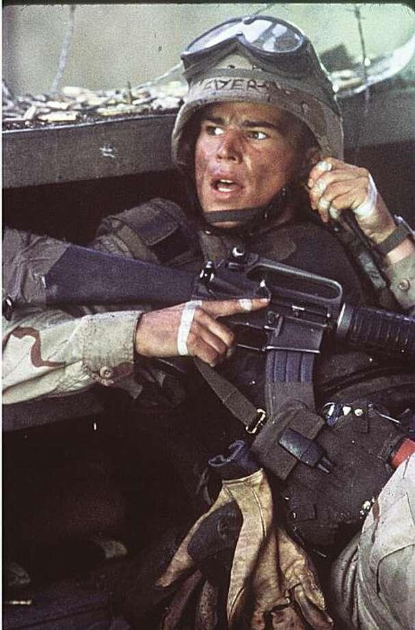 "Josh Hartnet in ""Black Hawk Down"" Photo: Columbia Pictures 2001"