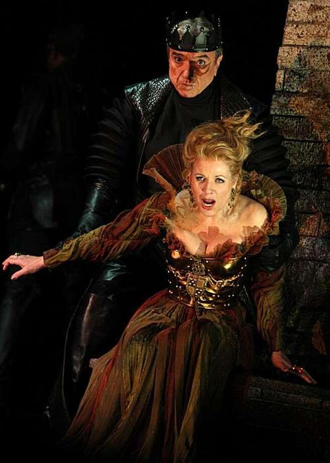 "Ren?e Fleming in the title role of Donizetti's ""Lucrezia Borgia"" at Washington National Opera Photo: Karin Cooper/Washington National"