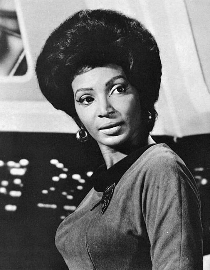 "Nichelle Nichols sang with Duke Ellington and Lionel Hampton before turning to actingÑand the role of ""Uhura"" on Star Trek. Photo: Pbs"