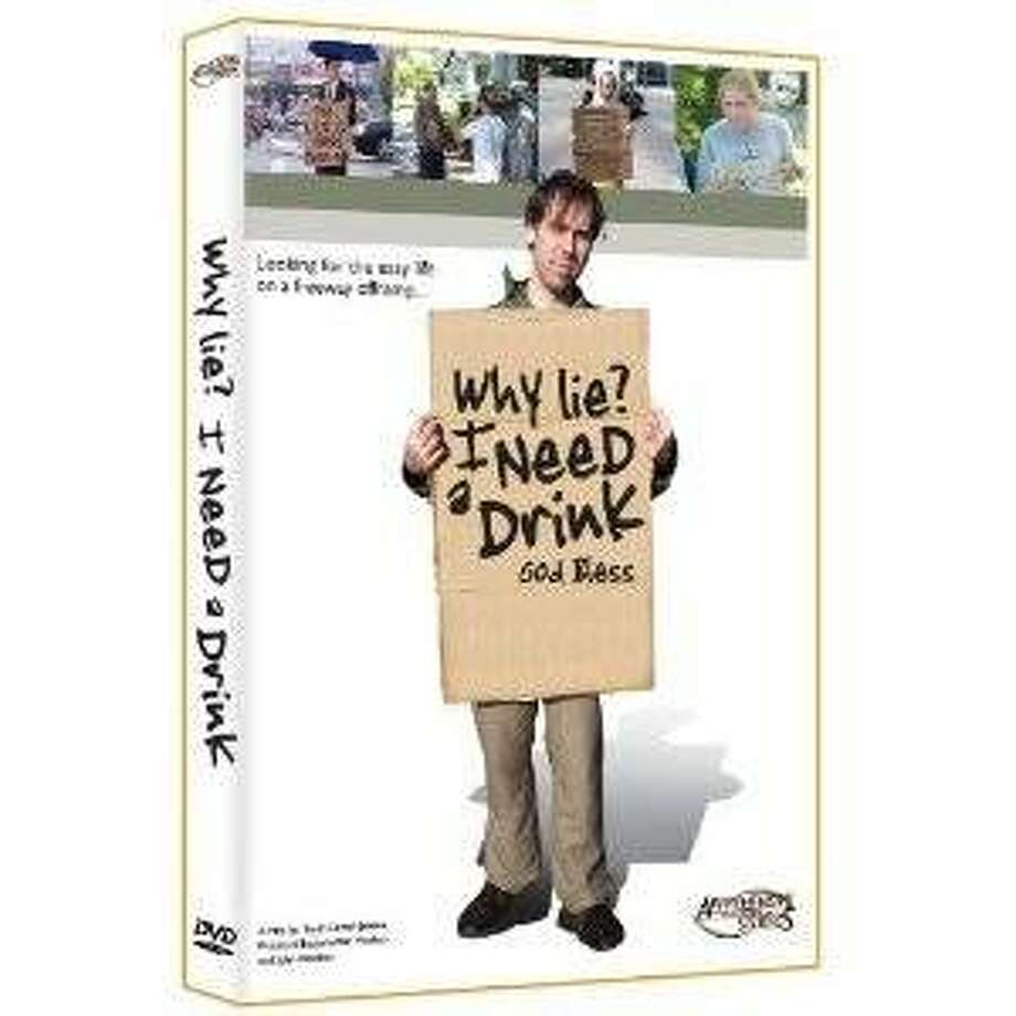 dvd cover WHY LIE? I NEED A DRINK Photo: Amazon.com