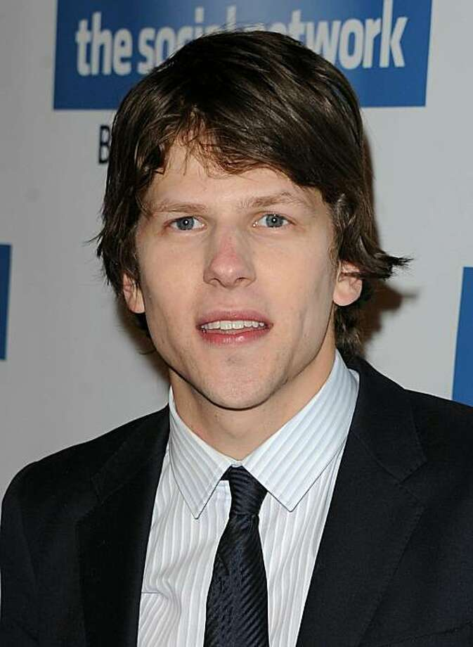 "BEVERLY HILLS, CA - JANUARY 06:  Actor Jesse Eisenberg arrives at Sony Pictures Home Entertainment's ""The Social Network"" Blu-ray & DVD launch event on January 6, 2011 in Beverly Hills, California. Photo: Jason Merritt, Getty Images"