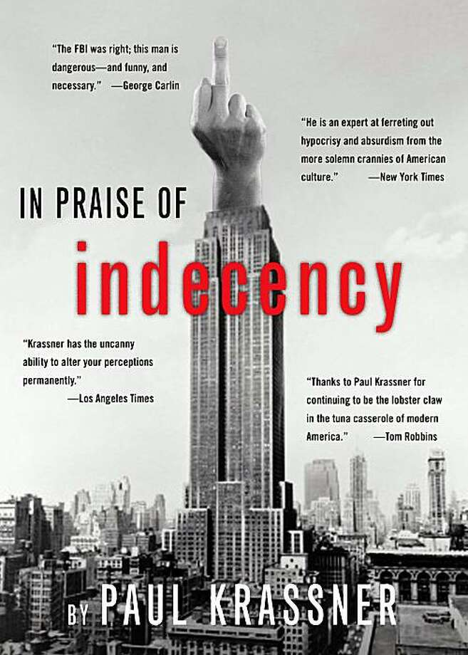 """In Praise of Indecency"" Photo: Cover Art"