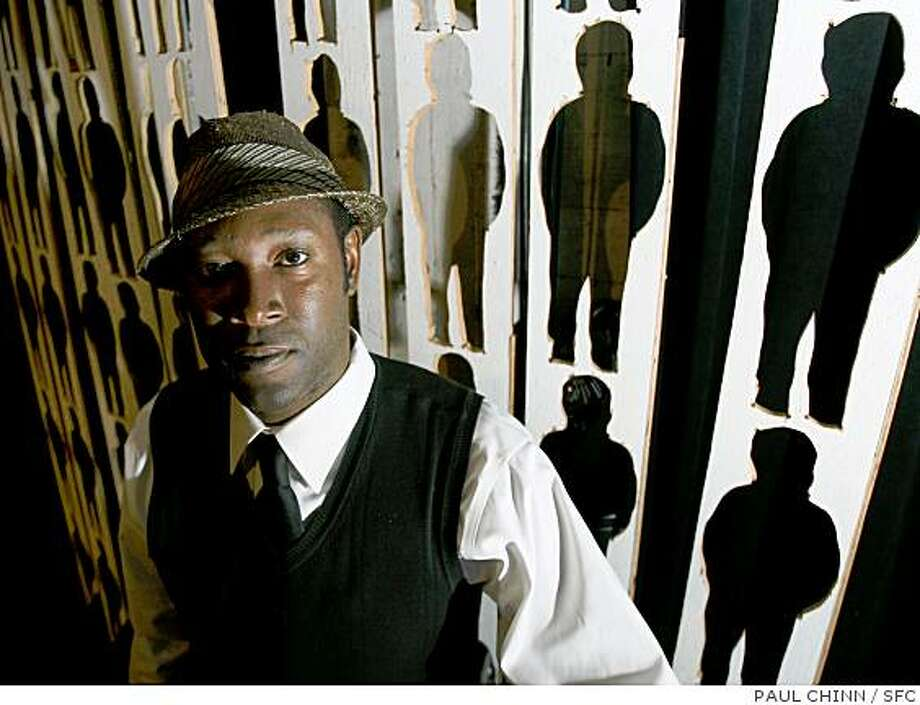 "Jazz musician Marcus Shelby, photographed at Intersection for the Arts in San Francisco, Calif. on Friday, Oct. 5, 2007, will perform ""Harriet Tubman: Bound for the Promised Land"" at the San Francisco jazz Festival on Oct. 19. PAUL CHINN/The Chronicle Photo: PAUL CHINN, SFC"