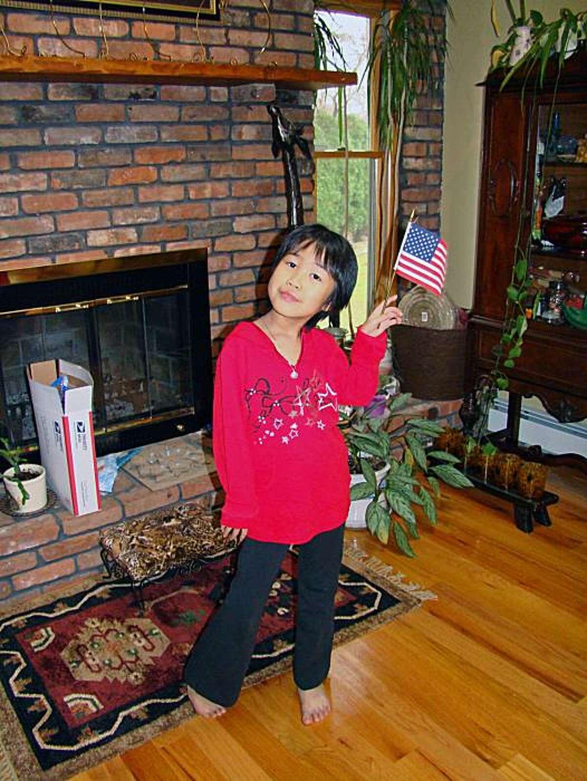 Faith Sui Yong Sadowsky, all-American girl.