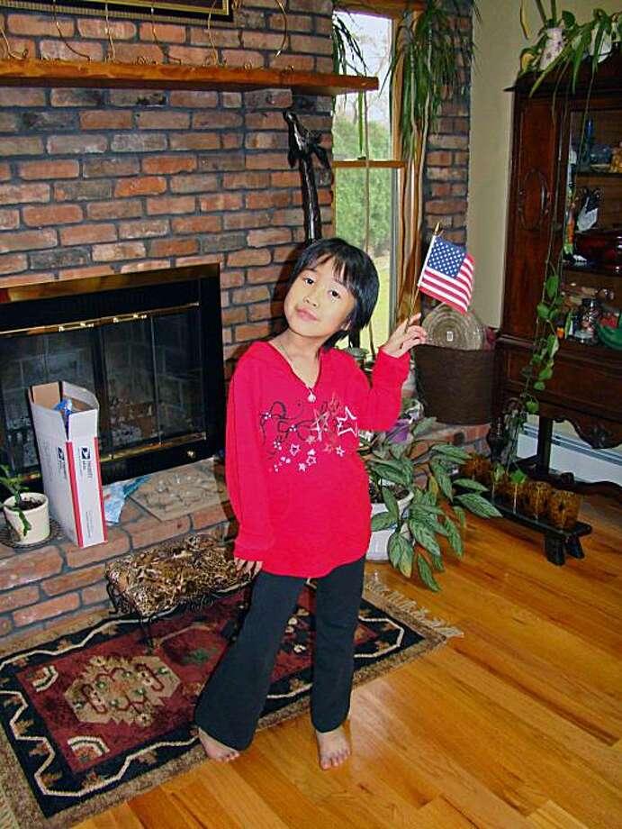 Faith Sui Yong Sadowsky, all-American girl. Photo: Stephanie Wang-Breal