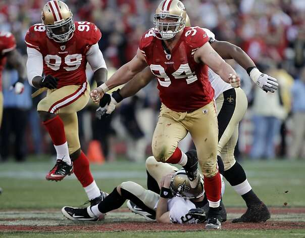 3. 49ers 36, Saints 32, NFC divisional playoffs, Jan. 14, 2012