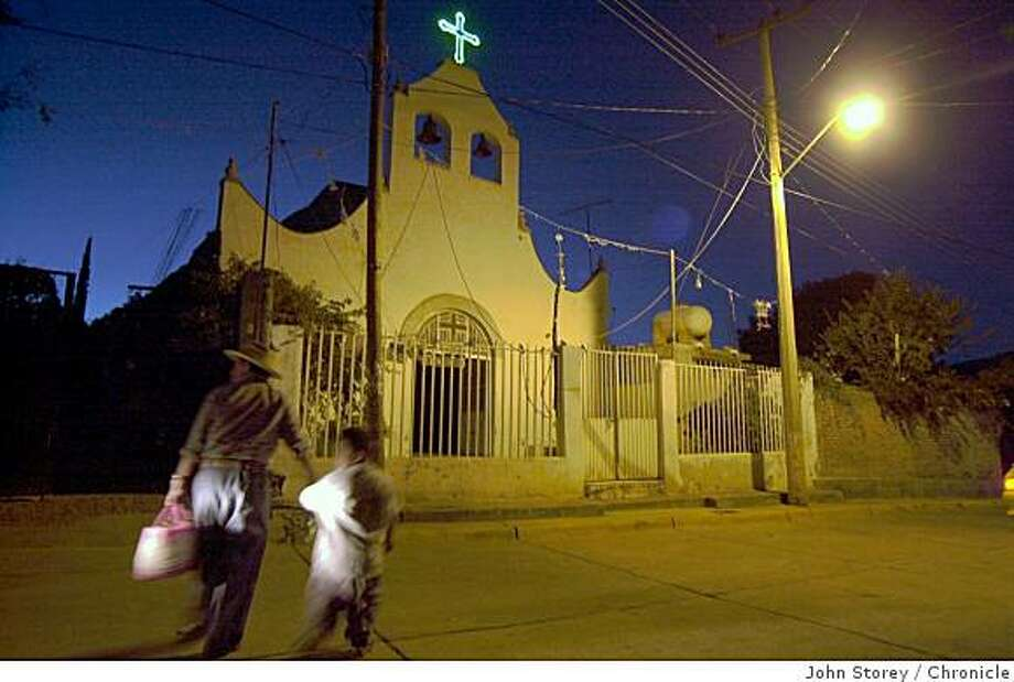 A church in the town of Charco, Mexico Photo: John Storey, Chronicle