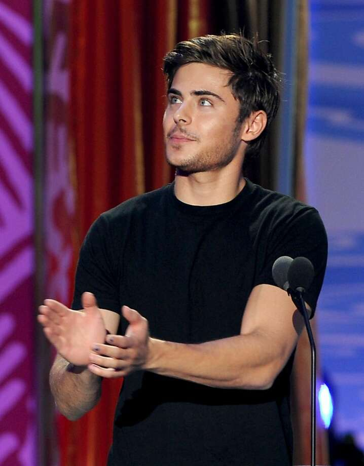 UNIVERSAL CITY, CA - AUGUST 08:  Actor Zac Efron speaks onstage during the 2010 Teen Choice Awards at Gibson Amphitheatre on August 8, 2010 in Universal City, California. Photo: Kevin Winter, Getty Images
