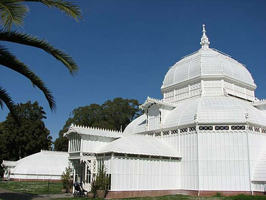 The Conservatory of Flowers is the most fun building in Golden Gate Park! Photo: John King