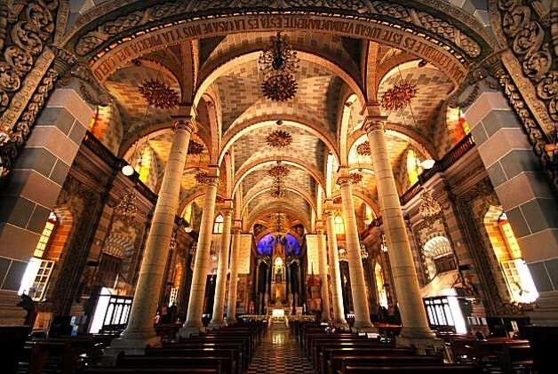 Interior of Mazatlan's cathedral. Photo: Mazatlan Tourism Board