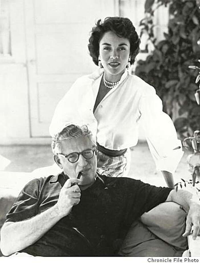 DAvid O. Selznick, Hollywood producer, and his second wife, actress Jennifer Jones. Photo: Chronicle File Photo