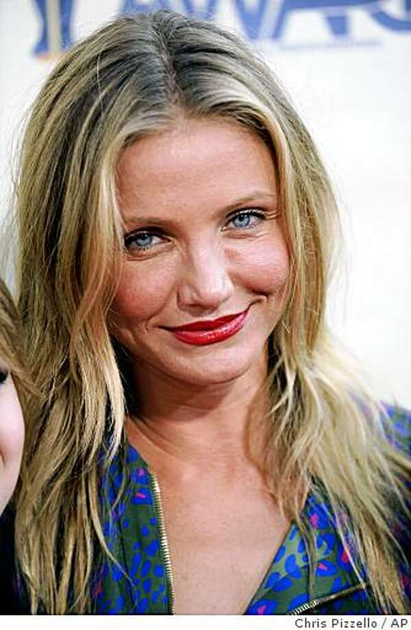 Cameron Diaz arrives at the MTV Movie Awards on Sunday May 31, 2009, in Universal City, Calif. Photo: Chris Pizzello, AP