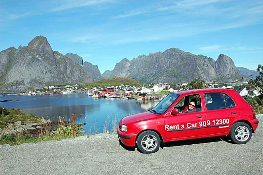 When you rent a car in Europe, you can explore undiscovered sights, such as this village in northern Norway Photo: Cameron Hewitt