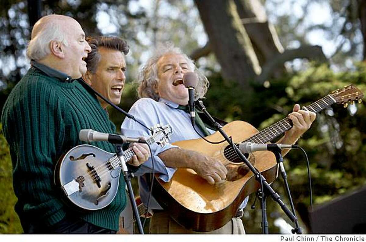 The Peter Rowan Bluegrass Band performs on the Banjo stage at the Hardly Strictly Blues Festival at Golden Gate Park in San Francisco, Calif., on Saturday, Oct. 4, 2008.
