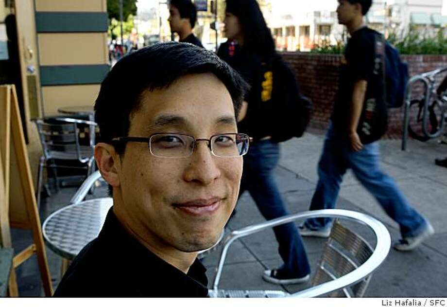 Graphic novelist Gene Yang. Photo: Liz Hafalia, SFC