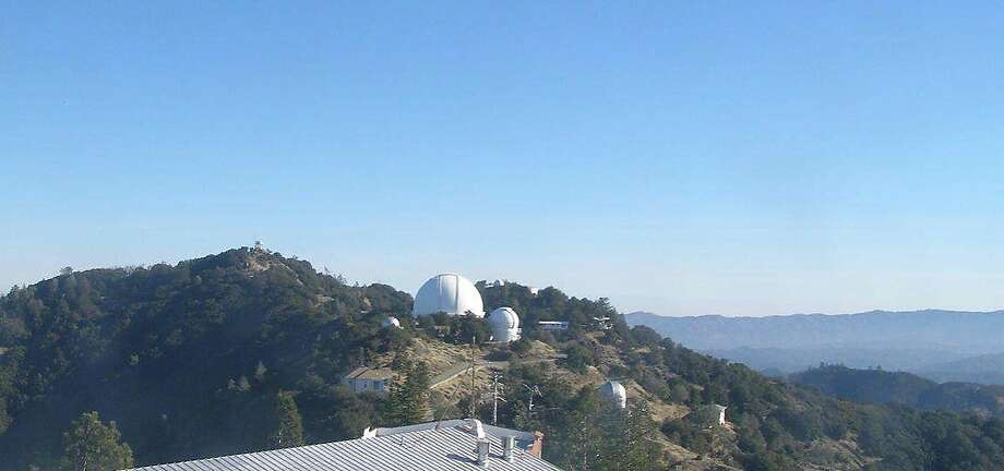 On top of 4,209-foot Mount Hamilton is the Lick Observatory. Photo: Courtesy UC