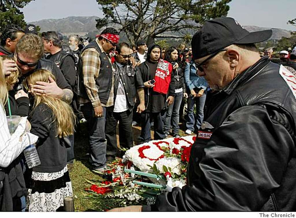 Hells Angels touched by a mentor - SFGate