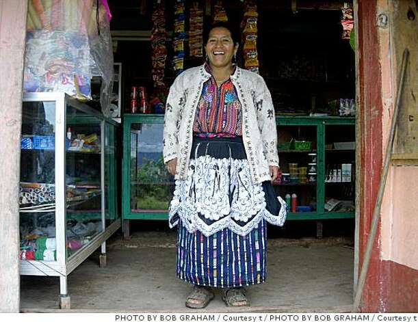 Maria Cuc Yaxon lives in a remote village in the highlands of Guatemala. Photo: PHOTO BY BOB GRAHAM / Courtesy T