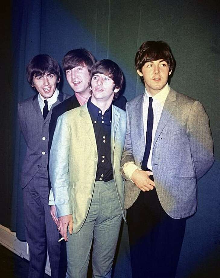 The Beatles on their first U.S. tour in 1964. Photo: Associated Press, AP
