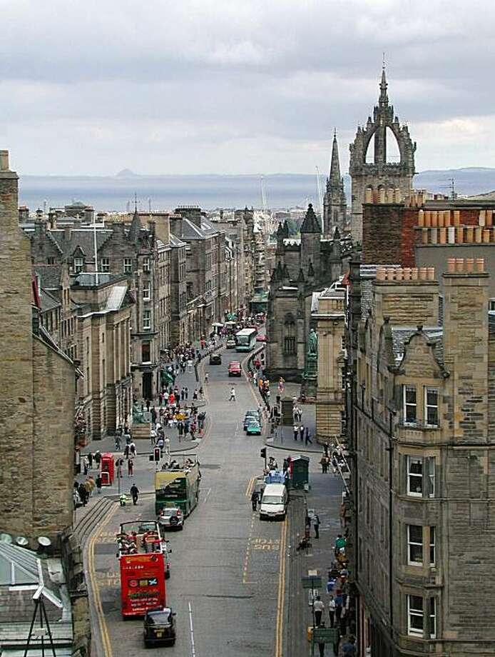 Edinburgh's Royal Mile is one of Europe's most interesting historic walks. Photo: Rick Steves