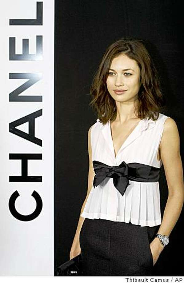 Ukrainian-born Olga Kurylenko modeled in France before making her big-screen debut. She's pictured in 2009.  Photo: Thibault Camus, AP