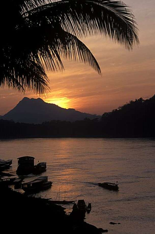 Mekong River at sunset. Photo: Alison Wright, Special To The Chronicle