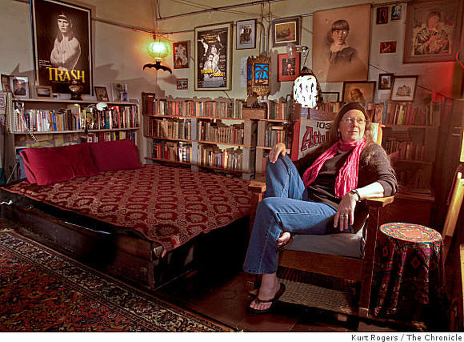 Maude Kirk who is one of the founding members an artist who lives at  Project Artaud may be evicted from because it doesn't qualify as section 8 so she cant use her voucher there. on Tuesday, Aug  5  2008 in San Francisco , Calif Photo: Kurt Rogers, The Chronicle
