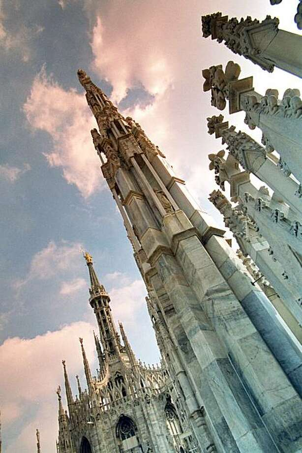 Milan's gloriously Gothic cathedral may finally see its next-door museum reopen in 2010. Photo: Dominic Bonuccelli
