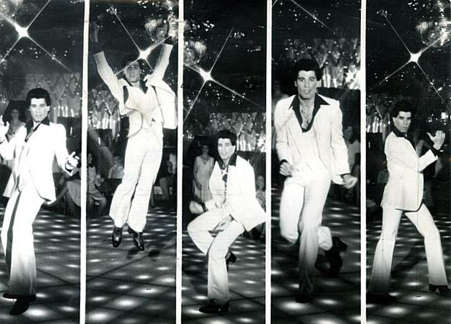 Paramount Pictures presents John Travolta in Saturday Night Fever. Photo: Chronicle Archive
