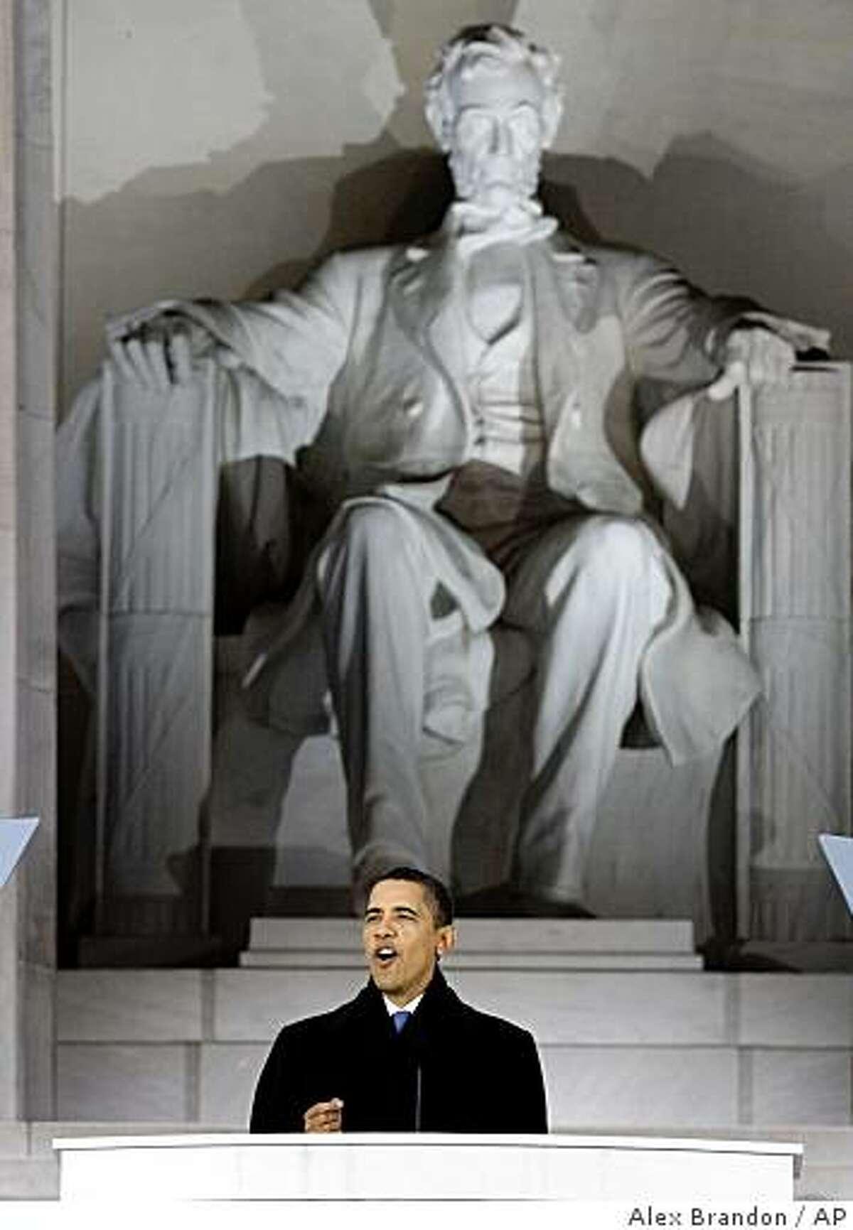 President-elect Barack Obama speaks during