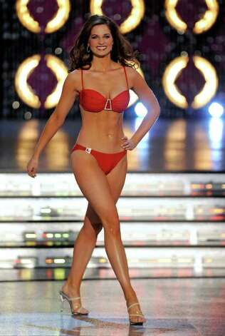 LAS VEGAS, NV - JANUARY 14:  Hope Anderson, Miss Louisiana, competes in the swimsuit competition during the 2012 Miss America Pageant at the Planet Hollywood Resort & Casino January 14, 2012 in Las Vegas, Nevada. Photo: Ethan Miller, Getty Images / 2012 Getty Images