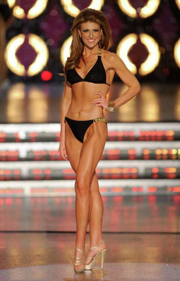 LAS VEGAS, NV - JANUARY 14:  Bree Boyce, Miss South Carolina, competes in the swimsuit competition during the 2012 Miss America Pageant at the Planet Hollywood Resort & Casino January 14, 2012 in Las Vegas, Nevada. Photo: Ethan Miller, Getty Images / 2012 Getty Images