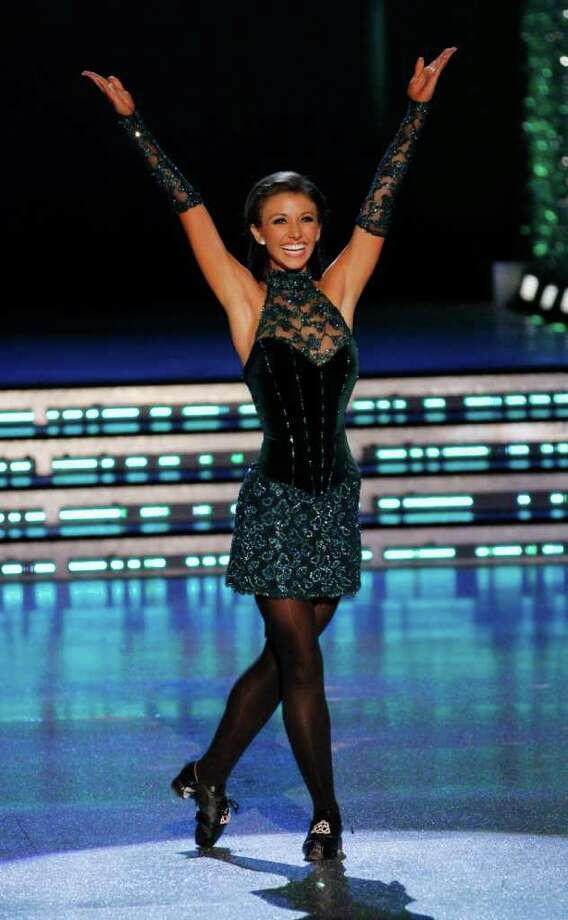 Miss Oklahoma Betty Thompson competes during the 2012 Miss America Pageant Saturday Jan. 14, 2012 at The Planet Hollywood Resort & Casino in Las Vegas. Thomson placed second in the Pageant while Miss Wisconsin Laura Kaeppeler went on to win. (AP Photo/Eric Jamison) Photo: Eric Jamison, Associated Press / FR156391 AP