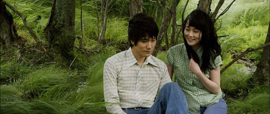 "Kenichi Matsuyama, left, and Rinko Kikuchi in a scene from the 2012 film ""Norwegian Wood,"" directed by Anh Hung Tran, a French director of Vietnamese origin, in an undated handout photo. The movies contending for the Oscar for best foreign-language film are increasingly international in scope, both in terms of language and subject matter. (Soda Pictures and Red Flag Releasing via The New York Times) -- NO SALES; FOR EDITORIAL USE ONLY WITH STORY SLUGGED FILM FOREIGN ADV01 BY LARRY ROHTER. ALL OTHER USE PROHIBITED. -- PHOTO MOVED IN ADVANCE AND NOT FOR USE - ONLINE OR IN PRINT - BEFORE JAN. 1, 2011. Photo: Soda Pictures, The New York Times"