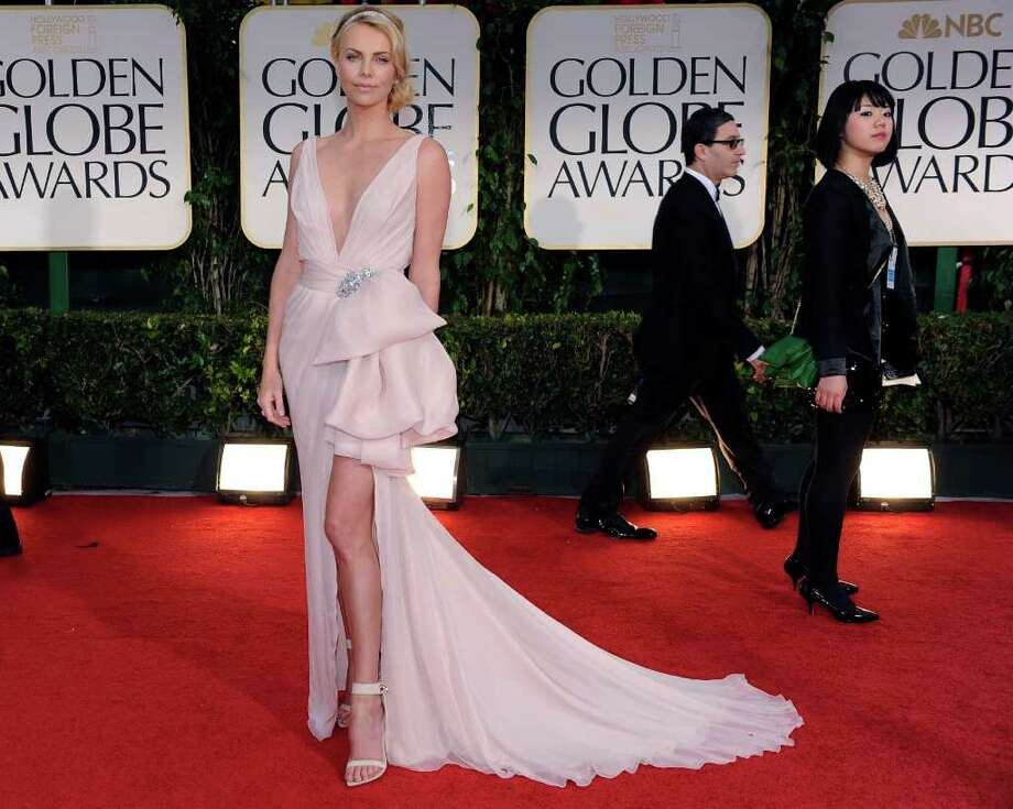 Couture perfection: Charlize 