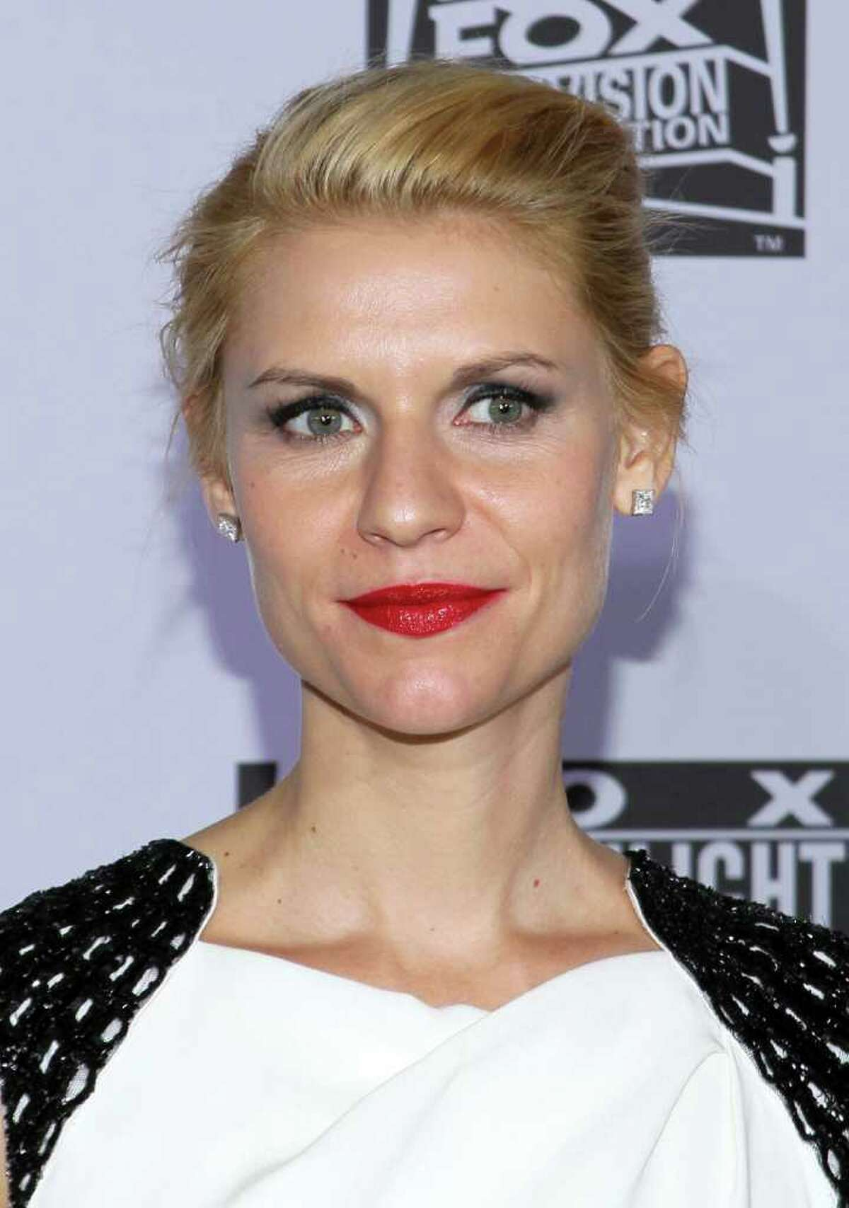 Actress Claire Danes arrives at NBC Universal's 69th Annual Golden Globe Awards After Party at The Beverly Hilton hotel on January 15, 2012 in Beverly Hills, California.