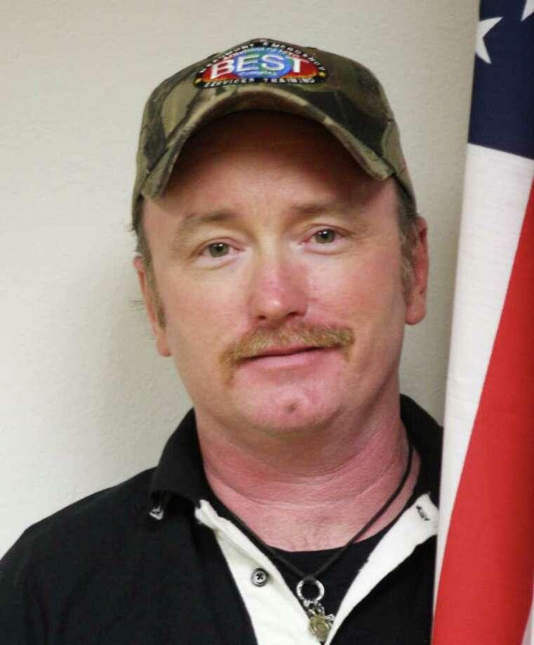 Lumberton Fire and EMS president David Grass, Jr. Photo: David Lisenby, HCN_Grass