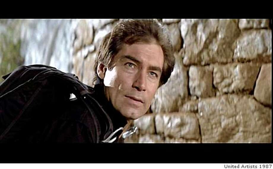 "Timothy Dalton as James Bond in ""The Living Daylights."" Photo: United Artists 1987"