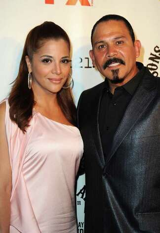 "Emilio Rivera (pictured with wife Yadi Valerio Rivera) was born in San Antonio in 1961 and has been in a number of films, including ""High Crimes"" and ""Confessions of a Dangerous Mind."" Photo: Frazer Harrison, Getty Images / 2011 Getty Images"