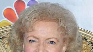 """Actress Betty White attends a press conference prior to  the taping of """"Betty White's 90th Birthday: A Tribute To America's Golden Girl"""" on Sunday, Jan. 8, 2012 in Los Angeles. The show will air on NBC on Jan. 16, 2012. (AP Photo/Vince Bucci)"""