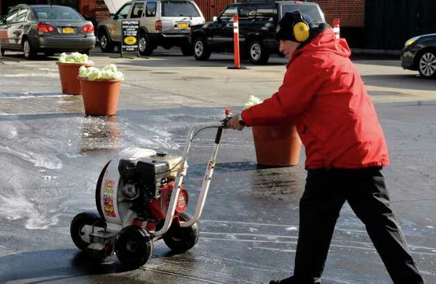 And finally...you believe leaf blowers are the downfall of civilization. Photo: Helen Neafsey / Greenwich Time