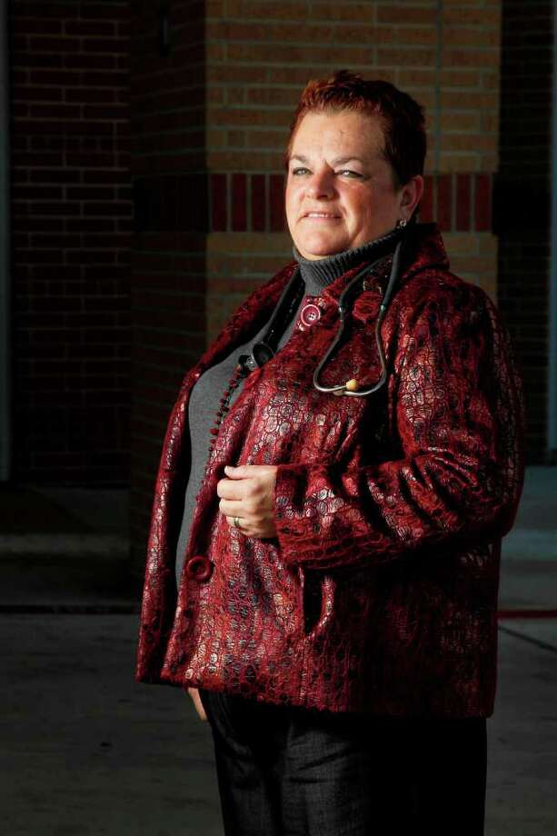 Dr. Nancy W. Dickey is the president of the Texas A&M Health Science Center and a family physician in Bryan. Photo: Mayra Beltran / © 2011 Houston Chronicle