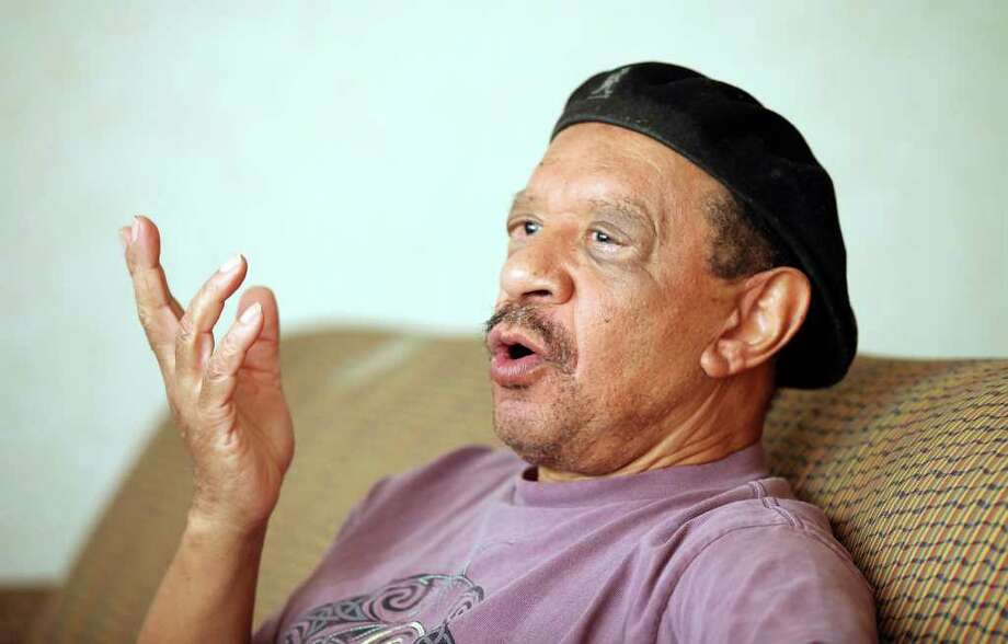 Sherman Hemsley says acting on stage is what he loves doing best. Photo: EDWARD A. ORNELAS, SAN ANTONIO EXPRESS-NEWS / SAN ANTONIO EXPRESS-NEWS (NFS)